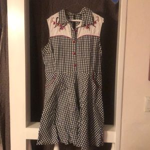 Hell Bunny Lydia Western Dress